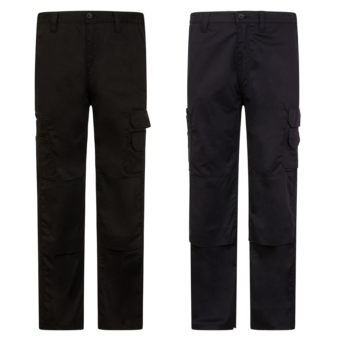 91ccb0b225 Goldstar Mens Cargo Combat Work Trousers with Knee Pad Pockets - GS ...