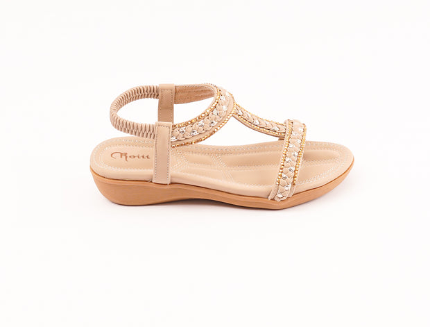 Roiii Summer hot sell fashion comfortable flat sandals shoes
