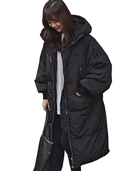 New Women Down Coat long hooded Jacket Hot Sale