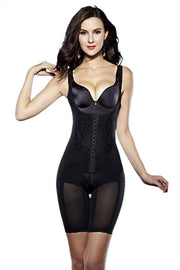 Roiii Women's Full Body Shaper Waist Cincher Underbust Corset Bodysuit Shapewear