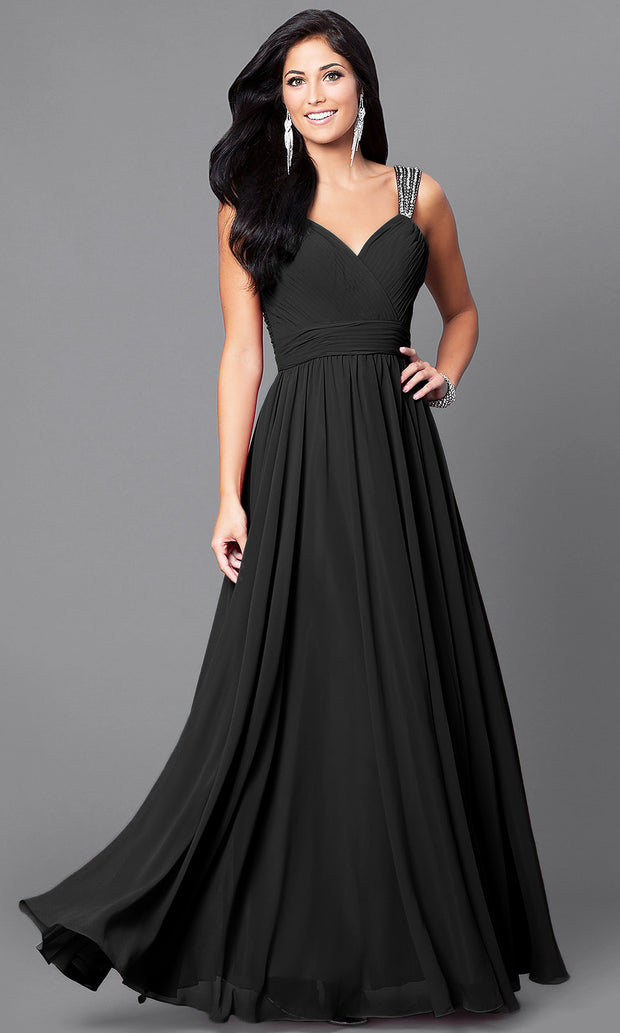 Elegant Formal  Sleeveless Dress
