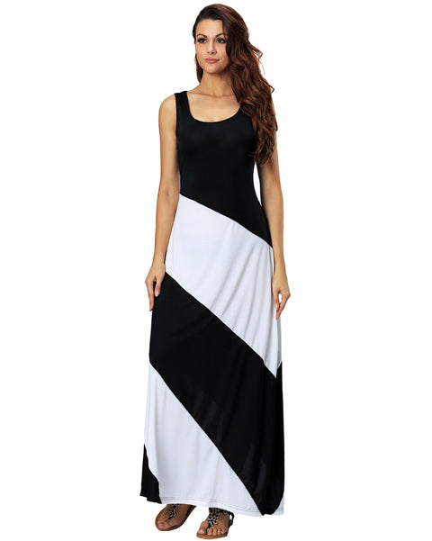 Roiii Summer fashion hot sell striped casual dresses