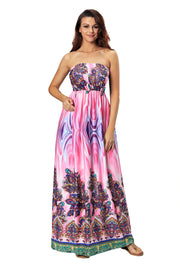 Roiii summer fashion casual long sexy comfortable beach dresses evening dresses