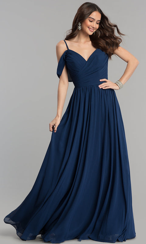 Chiffon Formal Casual Party Wedding Plus Size Maxi Dress