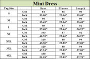 Roiii 2018 Spring Dress Women Casual Summer Beach Short Mini Chiffon Dresses Tops Long Flare Sleeve Lace Polk dot Party Vestidos