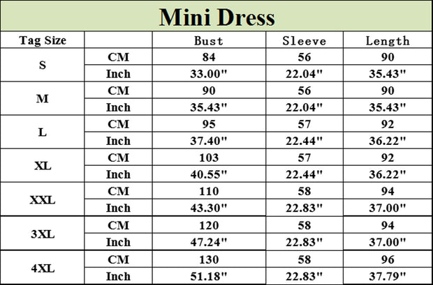 Roiii  Summer Dress 2018 Women's Long Sleeve Casual O-Neck Loose Short Dress Beach Mini Dresses Tops Plus Size S-4XL Vestidos