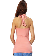 ROIII Deep V-neck Backless Elegant Vest