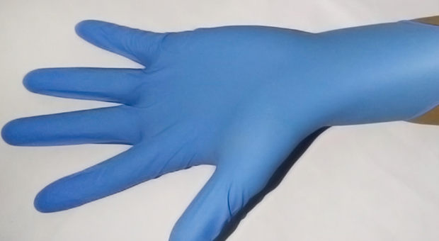 100 Pcs(50 pairs) Disposable Gloves Rubber Gloves