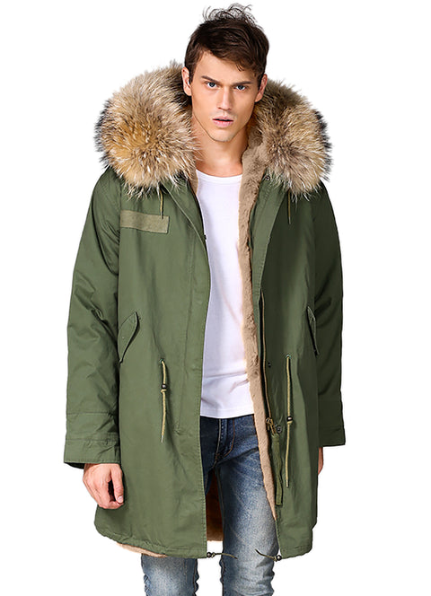 New Man Hooded Coat New Arrival Hot Sale