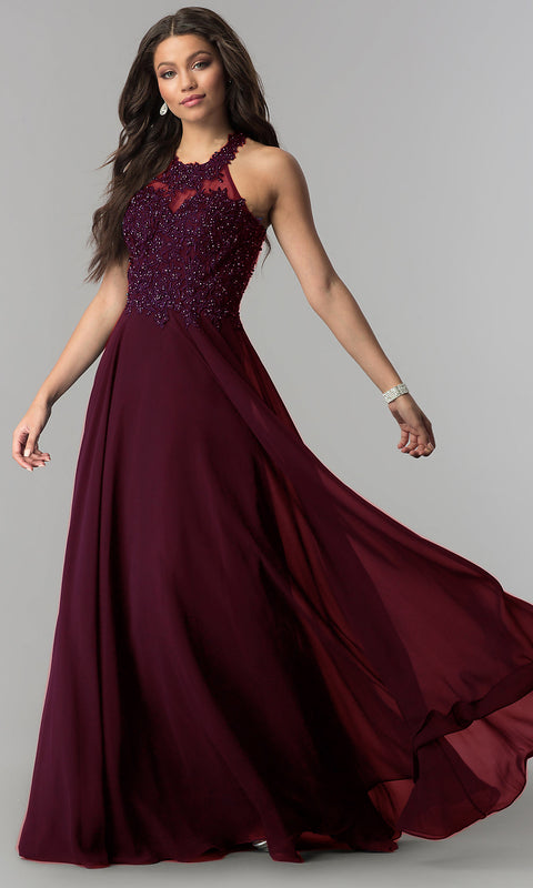 Women's Elegant Formal Bridesmaid Maxi Dress