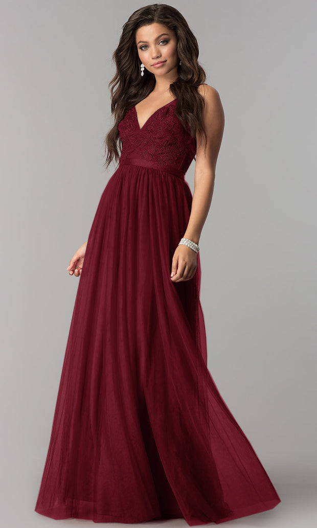 Elegant Evening Gown Sleeveless Maxi Dress