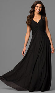 ROIII Sexy Lace shoulder strap slim BLACK Cocktail Evening Party Prom Dress