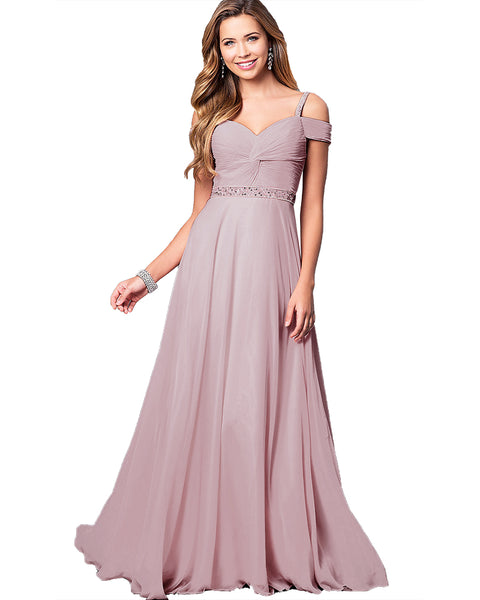 Women Floral Lace Chiffon Wedding Bridesmaid Evening Party Maxi Dress