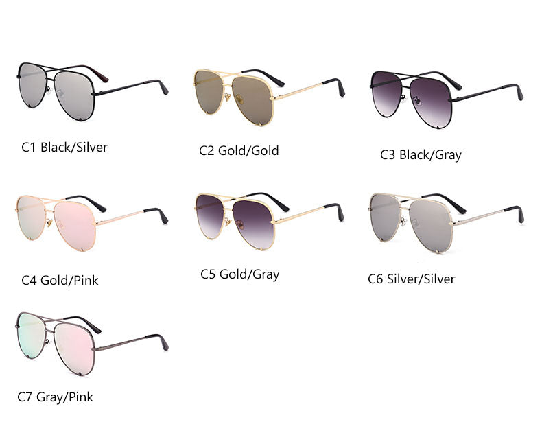 The Classic Mirror Aviator Sunglasses - Cosmos Selected