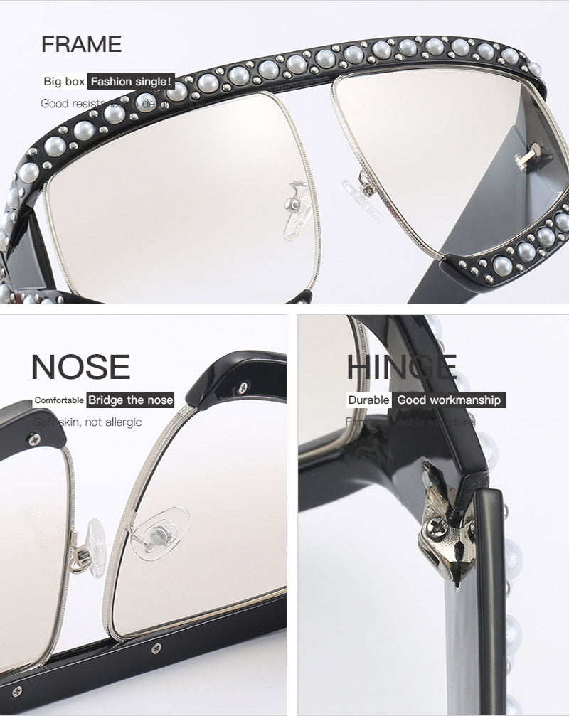 Big Pearl Sunglasses - Cosmos Selected