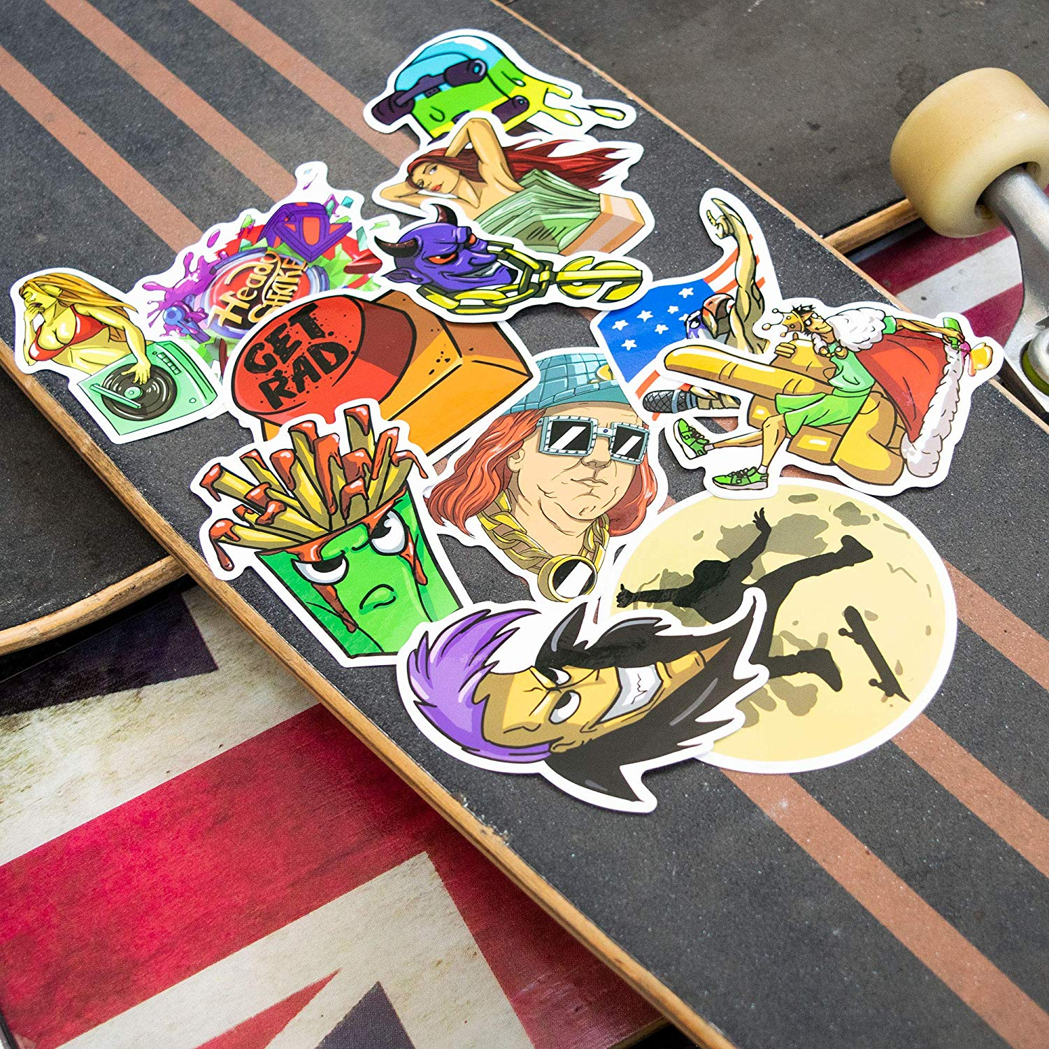 Finally available - Heady Stickers