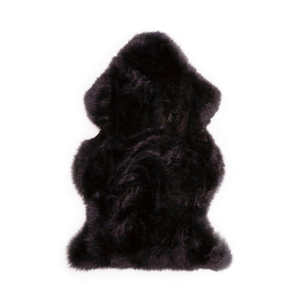 Black Sheepskin (105cm)-Sheepskin Rugs-Genuine UGG PERTH