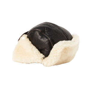 Sheepskin Bomber Hat-UGG Accessories-Genuine UGG PERTH