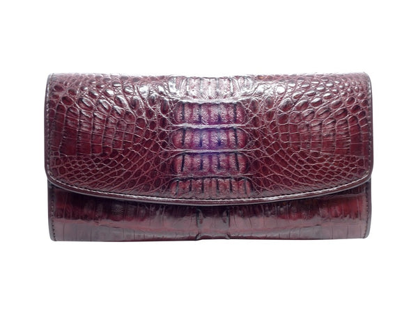 Crocodile Large Tri-Fold Purse - 8 Colours-Purse-Genuine UGG PERTH