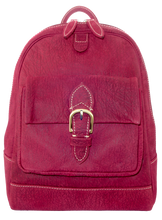 Kangaroo Leather Backpack - Purple
