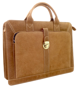 Roo Briefcase - 3 Colours-Leather Bags-Genuine UGG PERTH