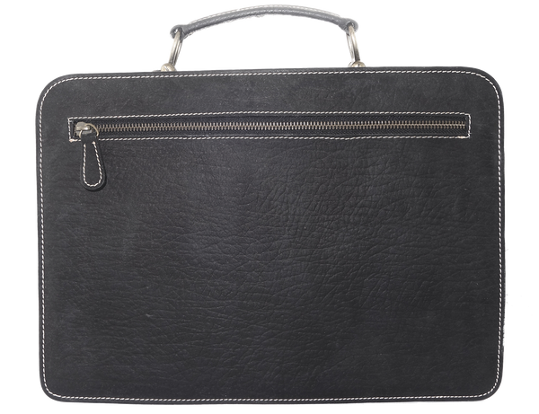 Roo Compact Briefcase - 2 Colours-Leather Bags-Genuine UGG PERTH