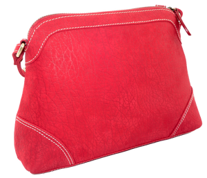 Kangaroo Leather - Red 9577