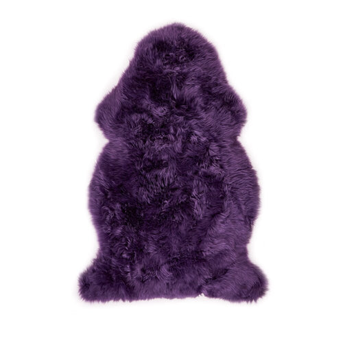 Deep Purple Sheepskin (105cm)