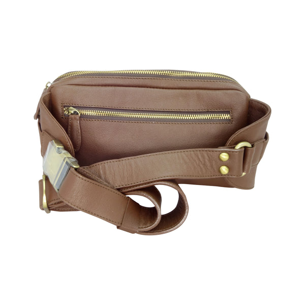 Roo 2.0 Bum Bag - 2 Colours-Leather Bags-Genuine UGG PERTH
