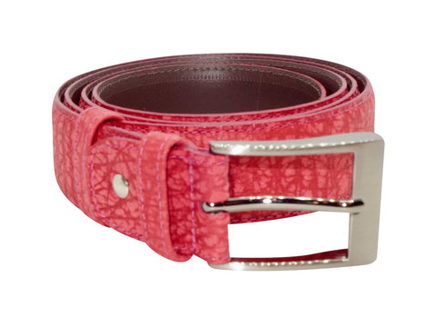 Roo Leather Belt - Red-Belt-Genuine UGG PERTH