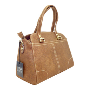 Roo Satchel Bag - 4 Colours-Handbags-Genuine UGG PERTH