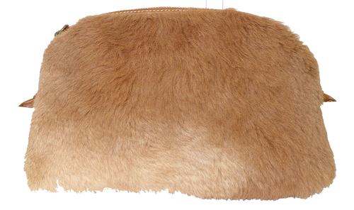Kangaroo Fur Small Shoulder Bag
