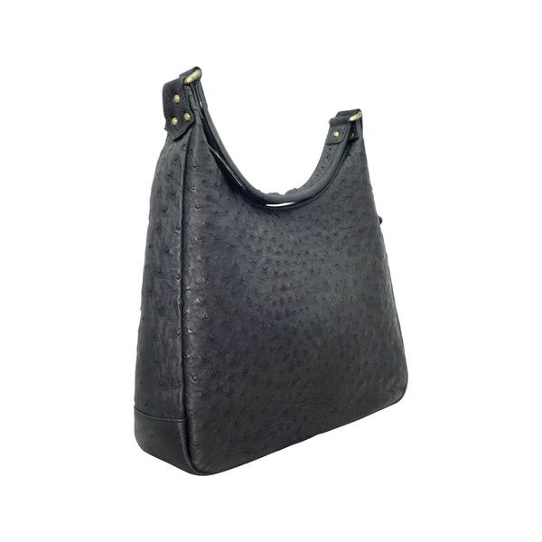 Ostrich Hobo Handbag - 4 Colours-Handbags-Genuine UGG PERTH