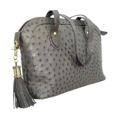 Ostrich Shoulder Handbag - 3 Colours