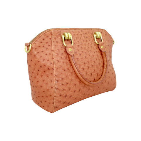 Ostrich Handbag - 3 Colours