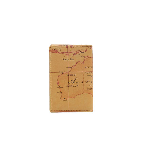 Australia Map Name Card Holder