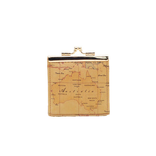 Australia Map Coin Case