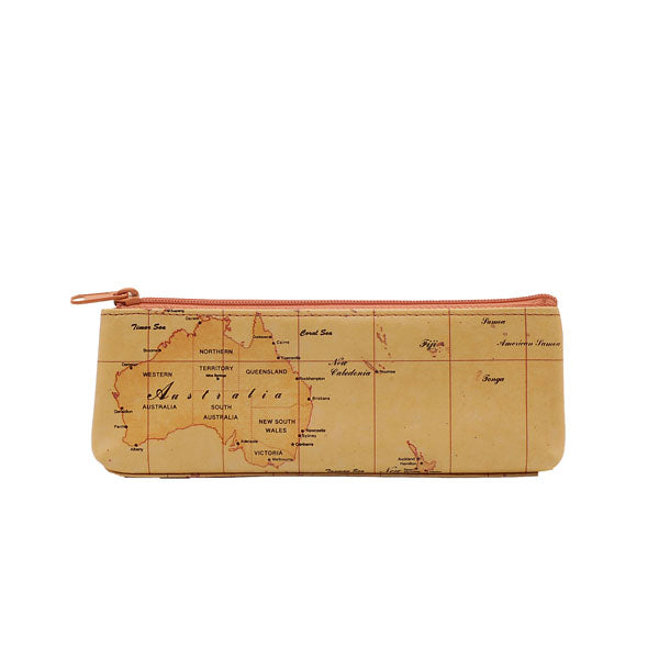 Australia Map Cosmetic Case