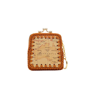 Australia Map Knot Coin Case-Gift Ideas-Genuine UGG PERTH
