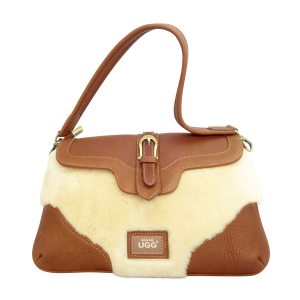 UGG Slim Bag - Chestnut-Leather Bags-Genuine UGG PERTH
