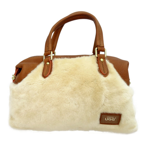 UGG Handbag - Chestnut-Leather Bags-Genuine UGG PERTH