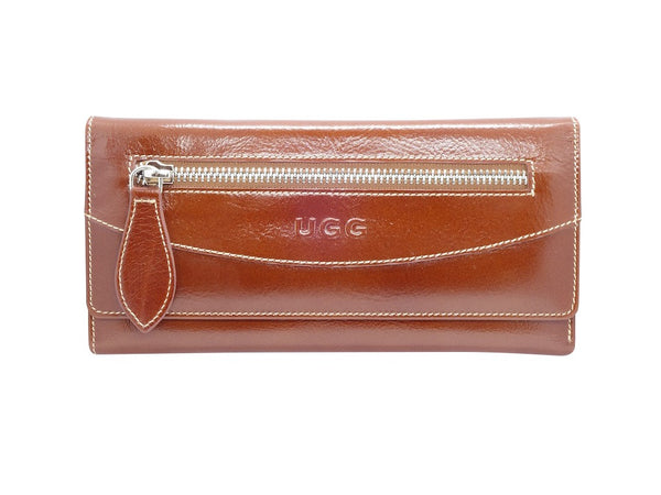 UGG Large Gloss Tri-Fold Purse - 2 Colours-Purse-Genuine UGG PERTH