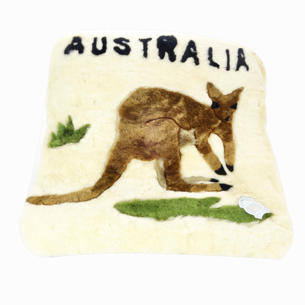 Kangaroo Design Cushion-Cushions-Genuine UGG PERTH