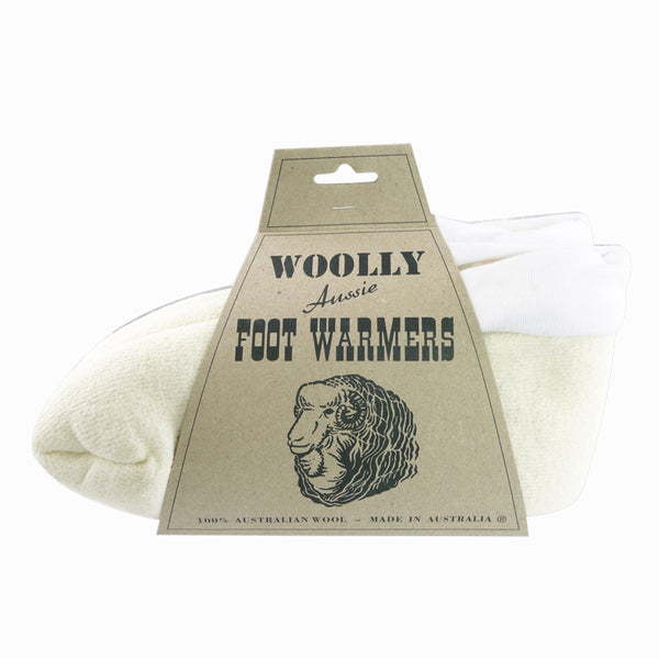 Foot Warmer - White-Accessories-Genuine UGG PERTH