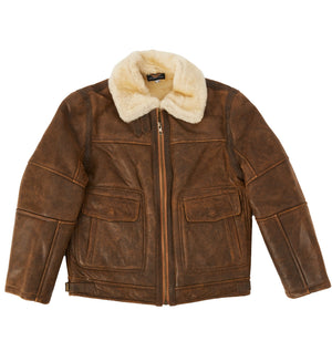 Bomber Jacket - Chestnut-Sheepskin Jackets-Genuine UGG PERTH