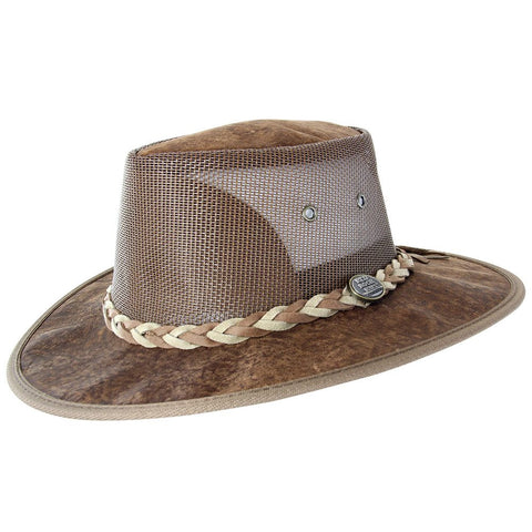 Kangaroo Cooler Hat - Hickory-Hats-Genuine UGG PERTH