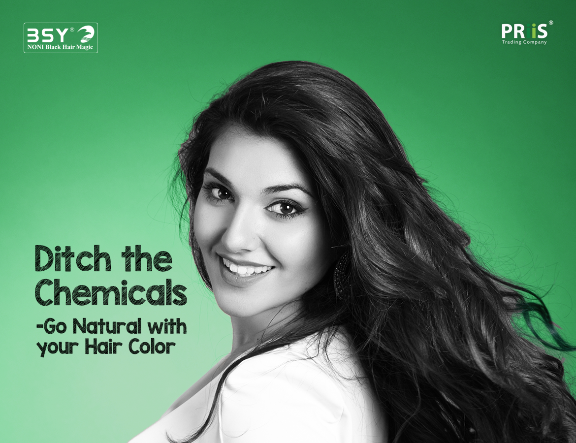 Ditch The Chemicals Go Natural With Your Hair Color Priis