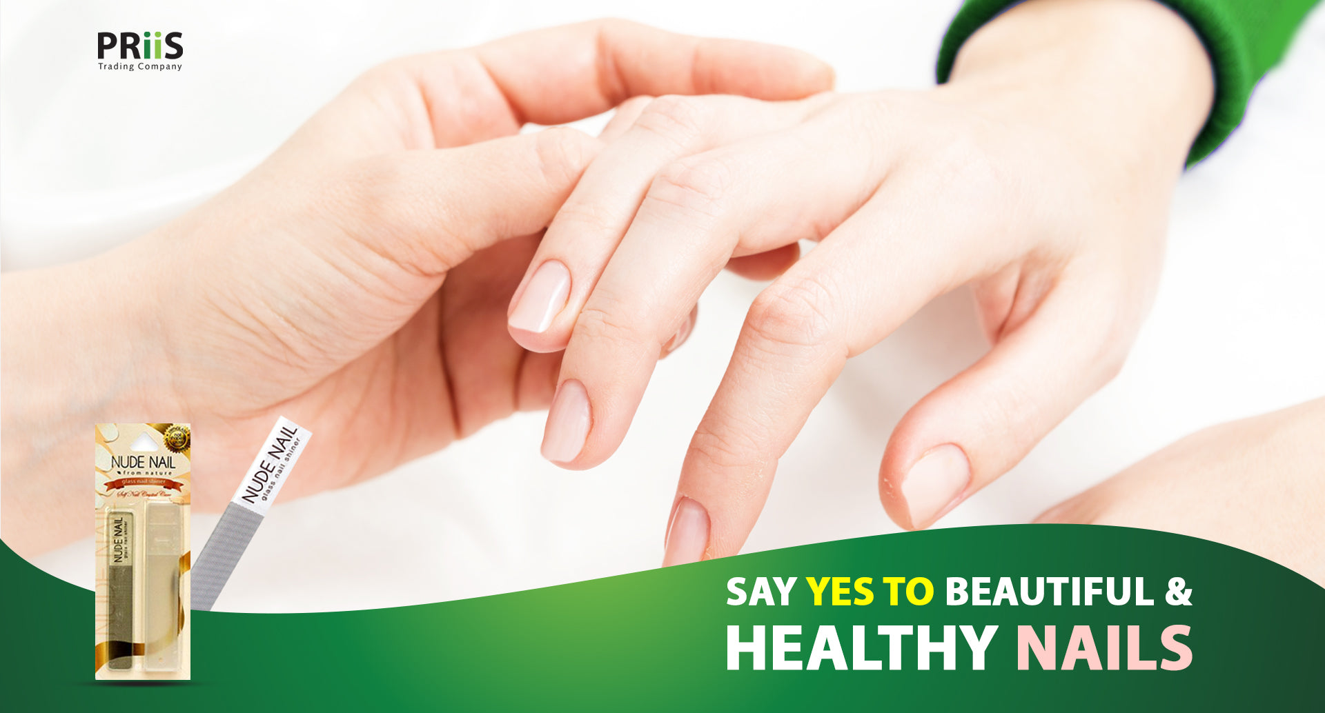 Say YES to beautiful & healthy nails