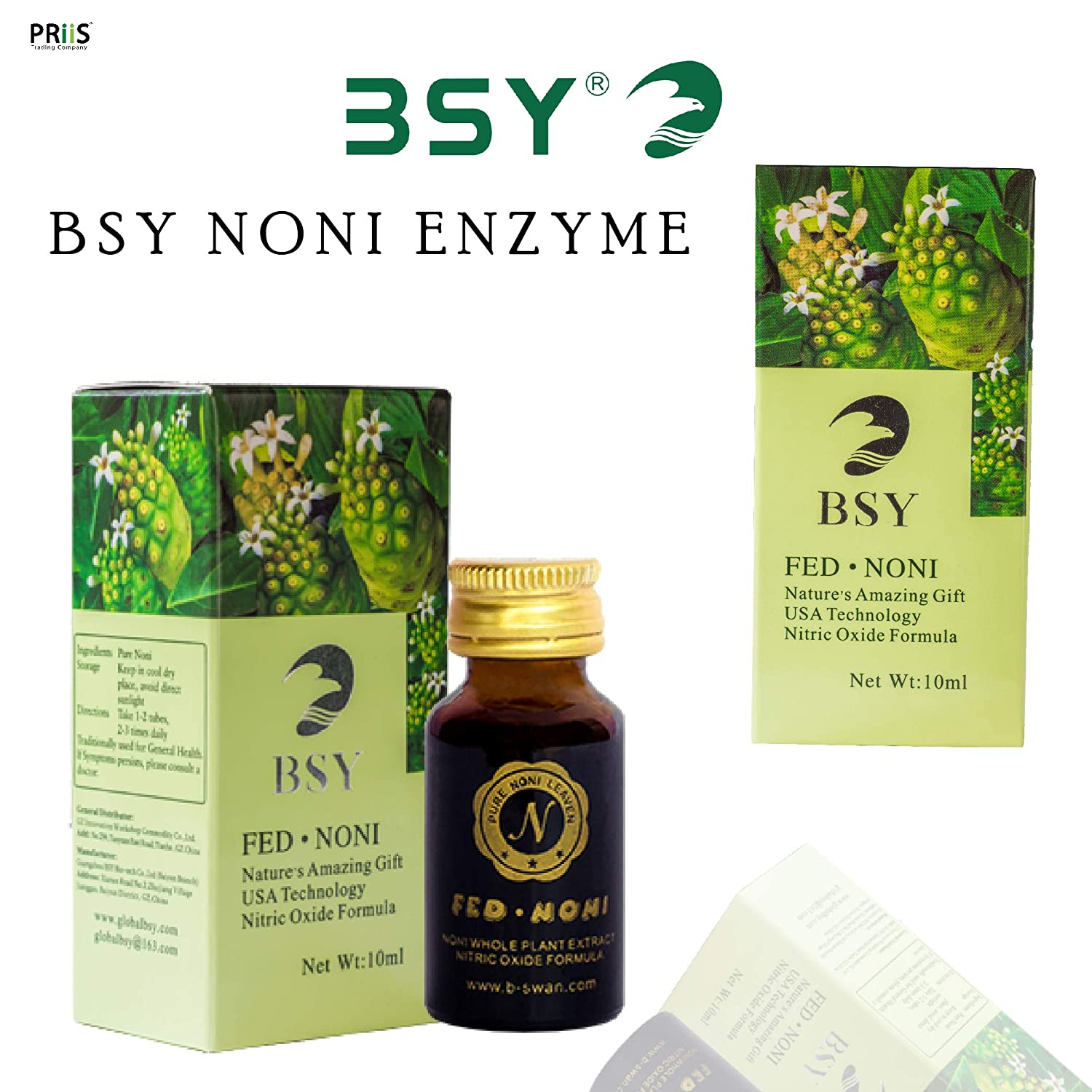 BSY Noni Leaven (10ml bottles)