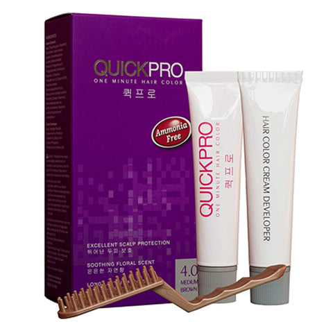 QuickPro 1 min Hair Colour - Medium brown